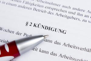 Eine fristlose Kündigung in der Ausbildung während der Probezeit ist gesetzlich festgelegt.